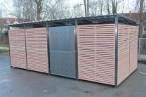 Mülltonnenhaus Wooden 531 x 265 cm