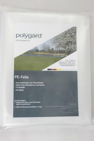 PE-Folie, 2 x 1,50 m; 0,100 mm