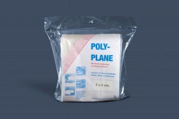 LDPE Polyplane, transp. 4 x 5 m.; 0,100 mm