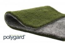 Polygard® Ufermatte grün grau doubliert - Breite: 1,0 Meter