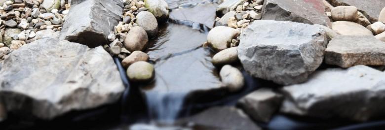 Bauanleitung für einen Bachlauf