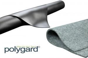 Polygard® PVC Teichfolie 0,5mm schwarz inkl. Vlies 300g/m²