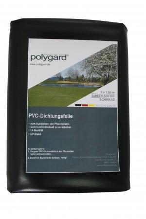PVC-Dichtungsfolie, 2 x 1,50 m; 0,5 mm