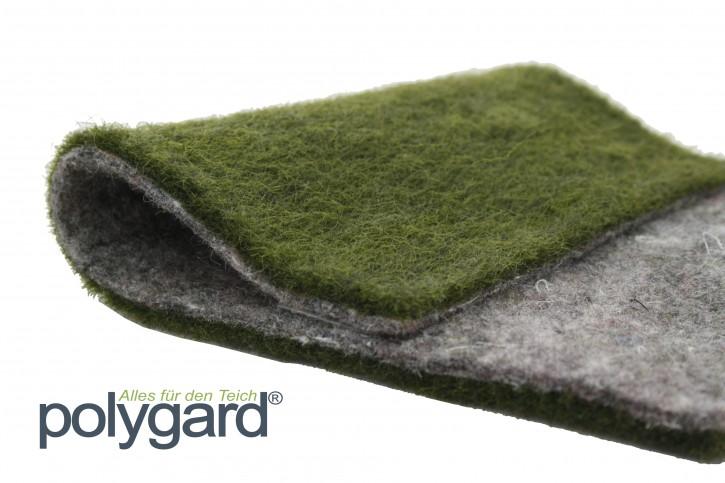 Polygard® Ufermatte grün grau doubliert - Breite: 1,5 Meter